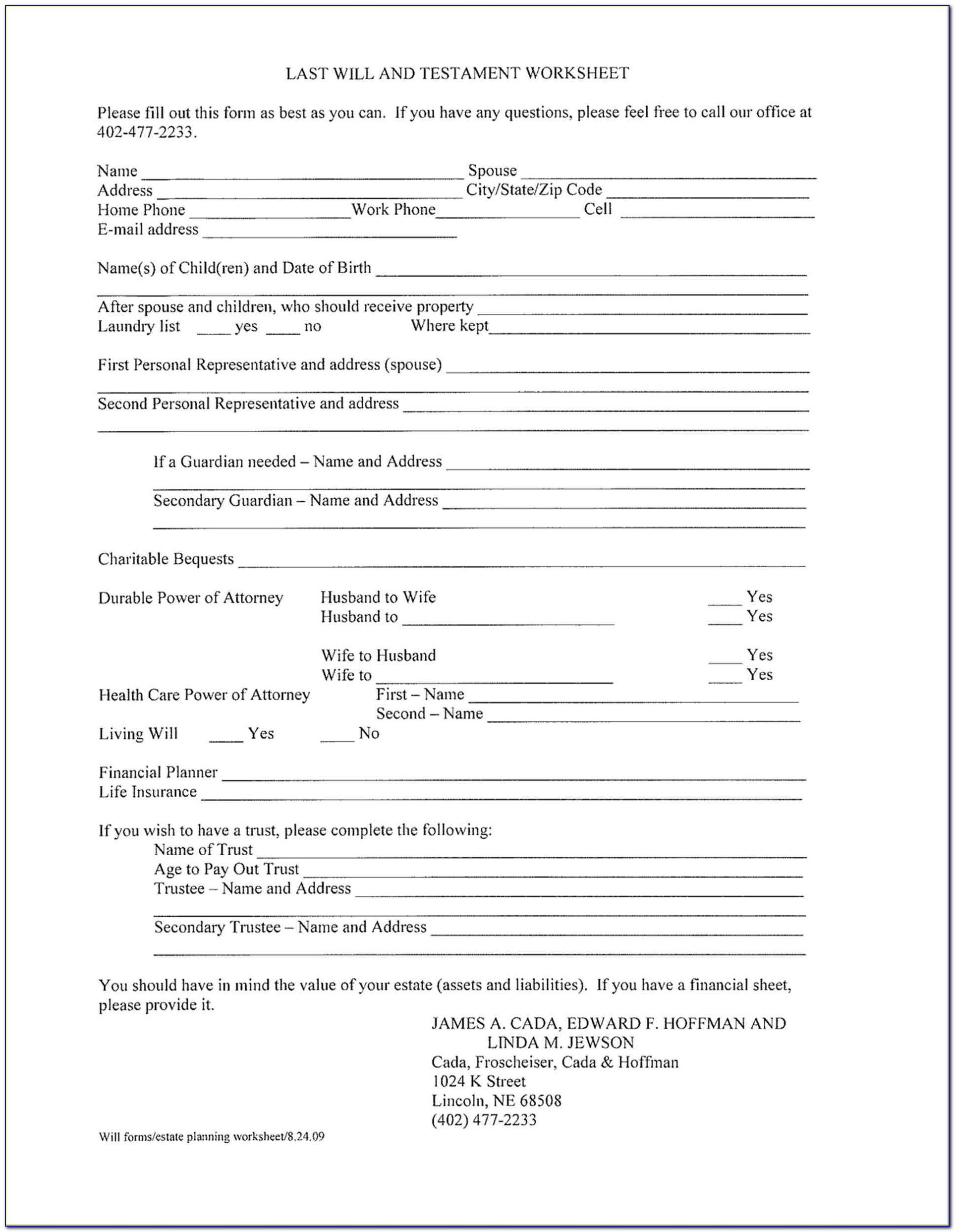 Free Printable Living Will Forms Florida - Form : Resume Examples - Free Printable Living Will