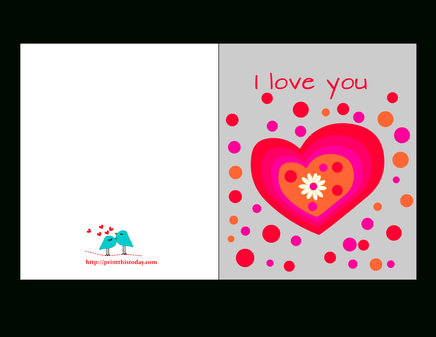 Free Printable Love Cards For Him - Free Printable Romantic Birthday Cards For Her