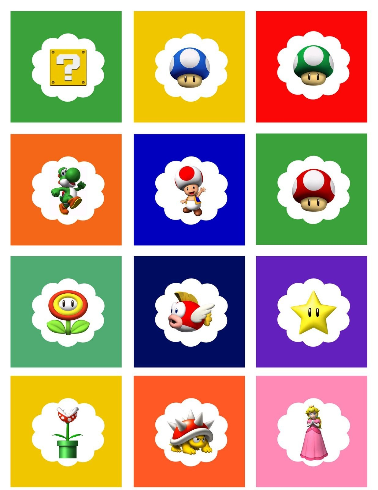 Free Printable | Mario Bros. Party | Super Mario Birthday, Mario - Free Mario Printables