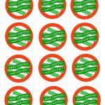 Free Printable Mason Jar Gift Labels   Merry Christmas & Happy New   Free Printable Jar Labels Christmas