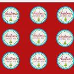 Free Printable Mason Jar Labels Template Elegant 10 Of Christmas   Free Printable Jar Labels Christmas