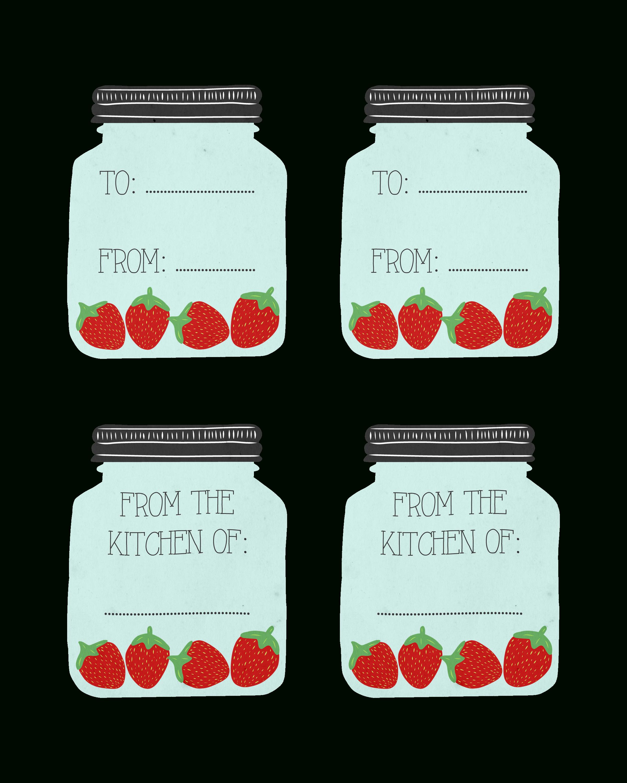 Free Printable Mason Jar Recipe Cards And Matching Gift Tags - The - Free Printable Mason Jar Gift Tags