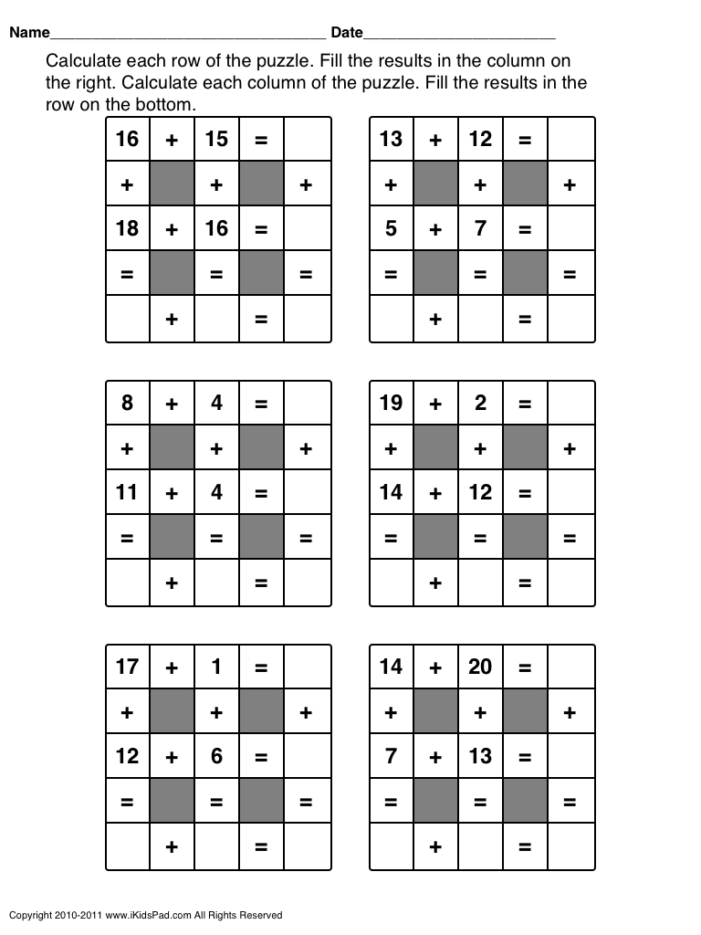 Free Printable Math Games For First Grade Students   Clasa 0   Maths - Free Printable Maths Games