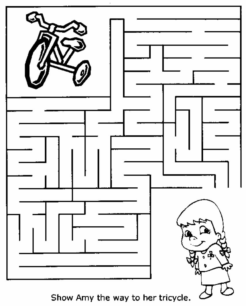 Free Printable Mazes For Kids | All Kids Network - Free Printable Mazes