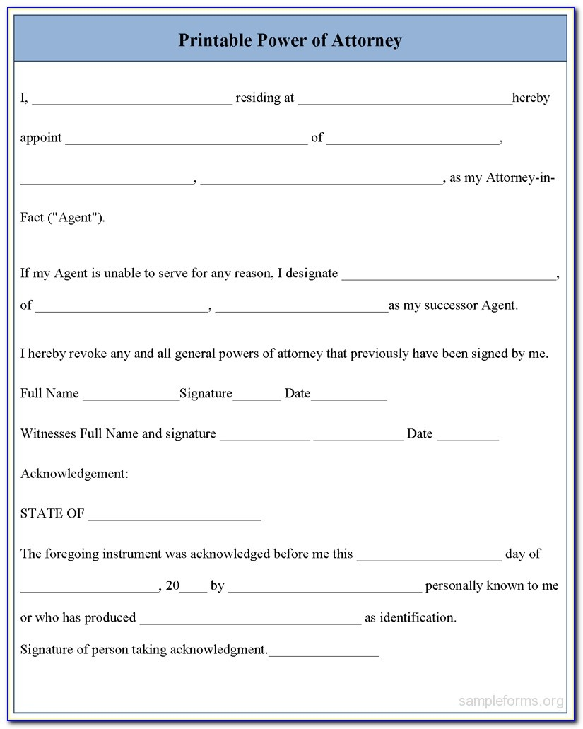 Free Printable Medical Power Of Attorney Form Alabama - Form - Free Blank Printable Medical Power Of Attorney Forms