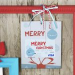 Free Printable} Merry Christmas Gift Card Holder| Gcg   Free Printable Christmas Cards With Photo Insert