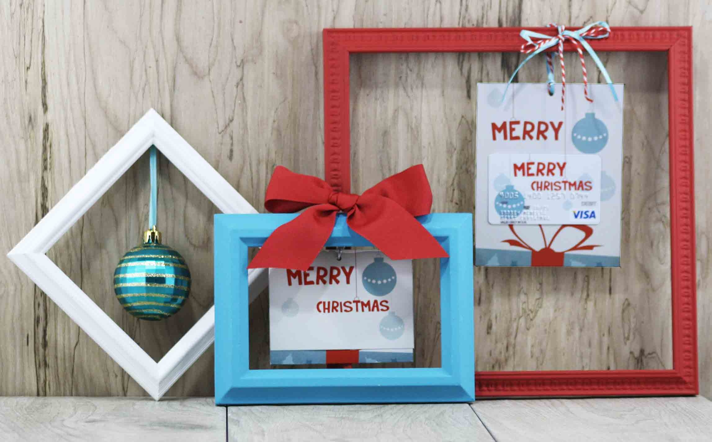 Free Printable} Merry Christmas Gift Card Holder| Gcg - Free Printable Flat Christmas Cards