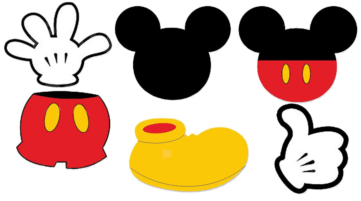 Free Printable Mickey Mouse, Download Free Clip Art, Free Clip Art - Free Mickey Mouse Printables