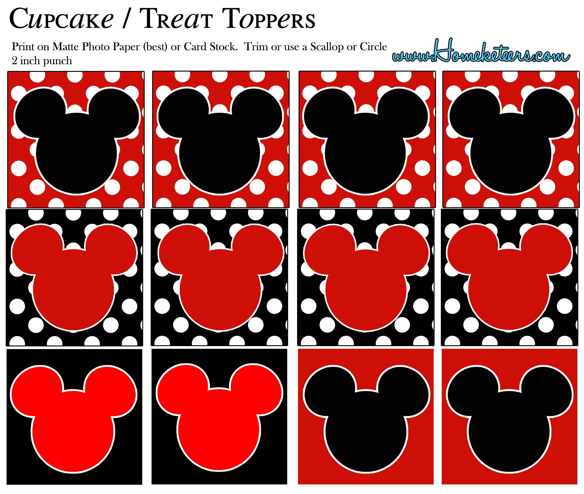 Free Printable Mickey Mouse, Download Free Clip Art, Free Clip Art - Mickey Mouse Clubhouse Free Party Printables