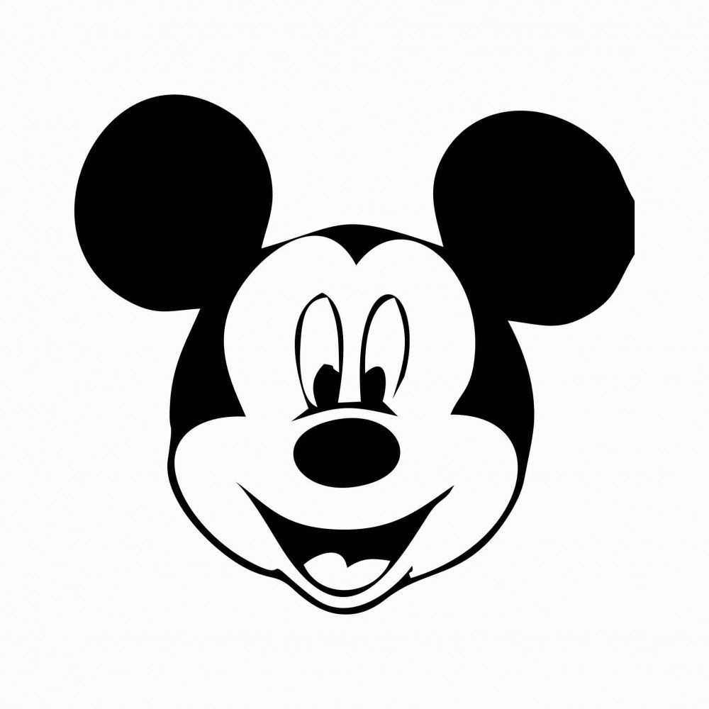Free Printable Mickey Mouse Template | 34 Mickey Mouse Face Template - Free Mickey Mouse Printables