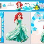 Free Printable Mini Kit For Your Little Mermaid Party.   Oh My   Free Printable Little Mermaid Water Bottle Labels
