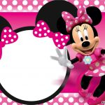 Free Printable Minnie Mouse Birthday Invitations – Bagvania Free   Free Minnie Mouse Printable Templates