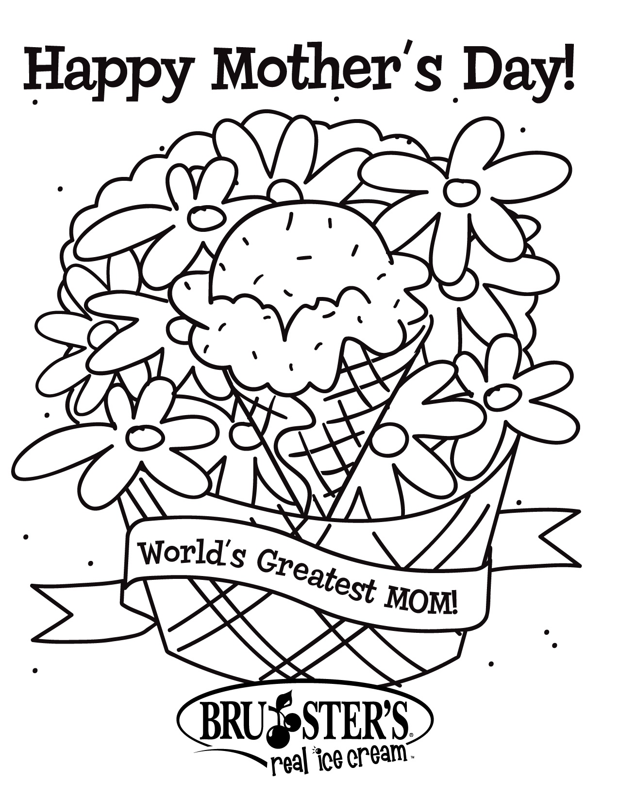 Free Printable Mothers Day Coloring Pages For Kids - Free Mother's Day Printables