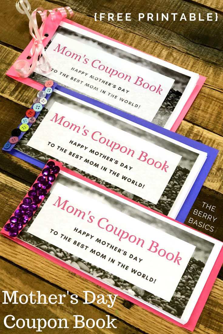 Free Printable Mother's Day Coupon Book   Activity Days   Mother's - Free Printable Homemade Coupon Book