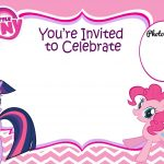 Free Printable My Little Pony Birthday Invitation Template | Free   Free Printable My Little Pony Thank You Cards