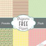 Free Printable Origami Paper Pack 1 – Origami Tutorials   Free Printable Paper