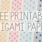 Free Printable Origami Papers From Paper Kawaii 💗   Youtube   Free Printable Paper