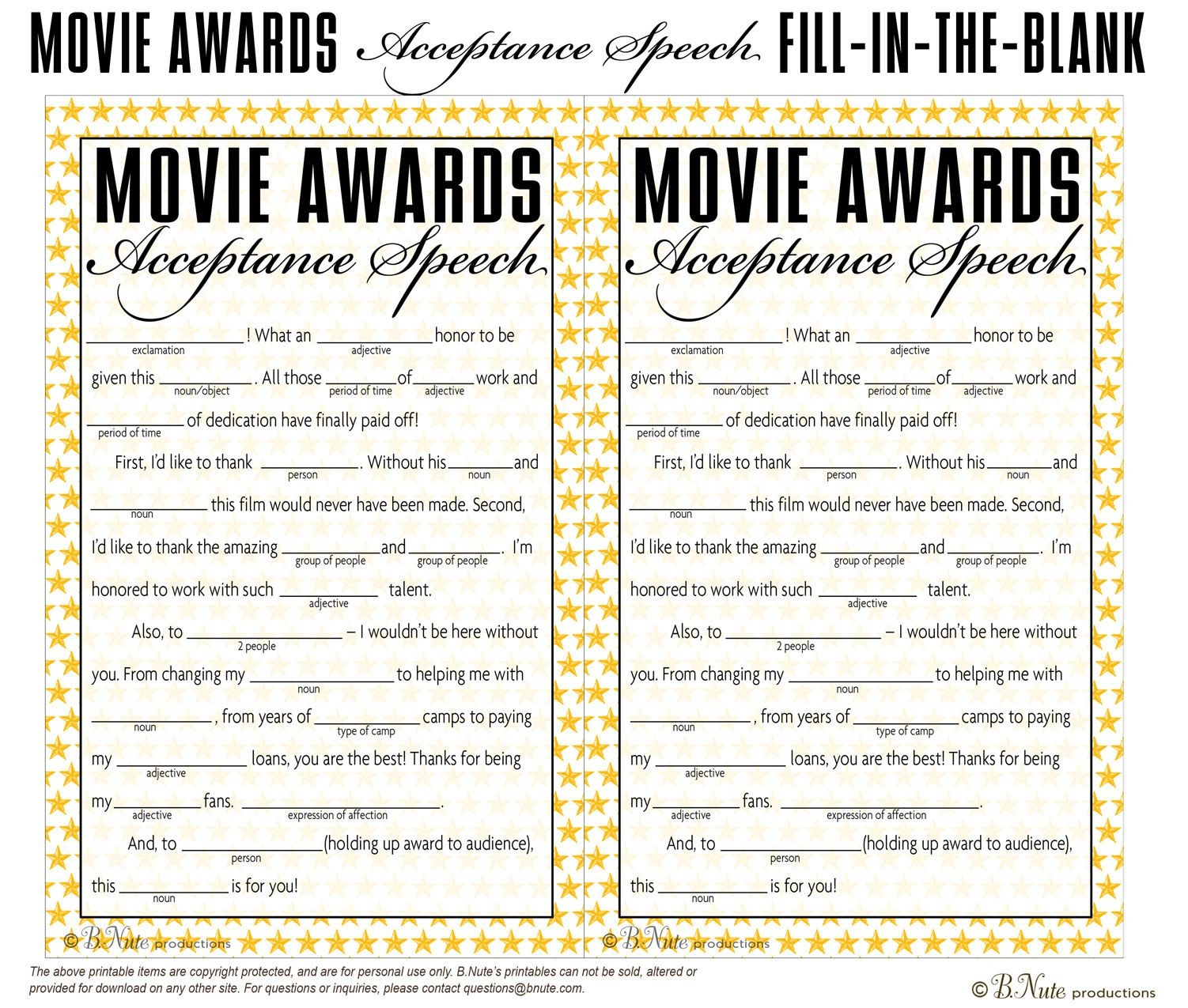 Free Printable Oscar Party Games. Tea Party Games | Oscar Party In - Free Printable Tea Party Games