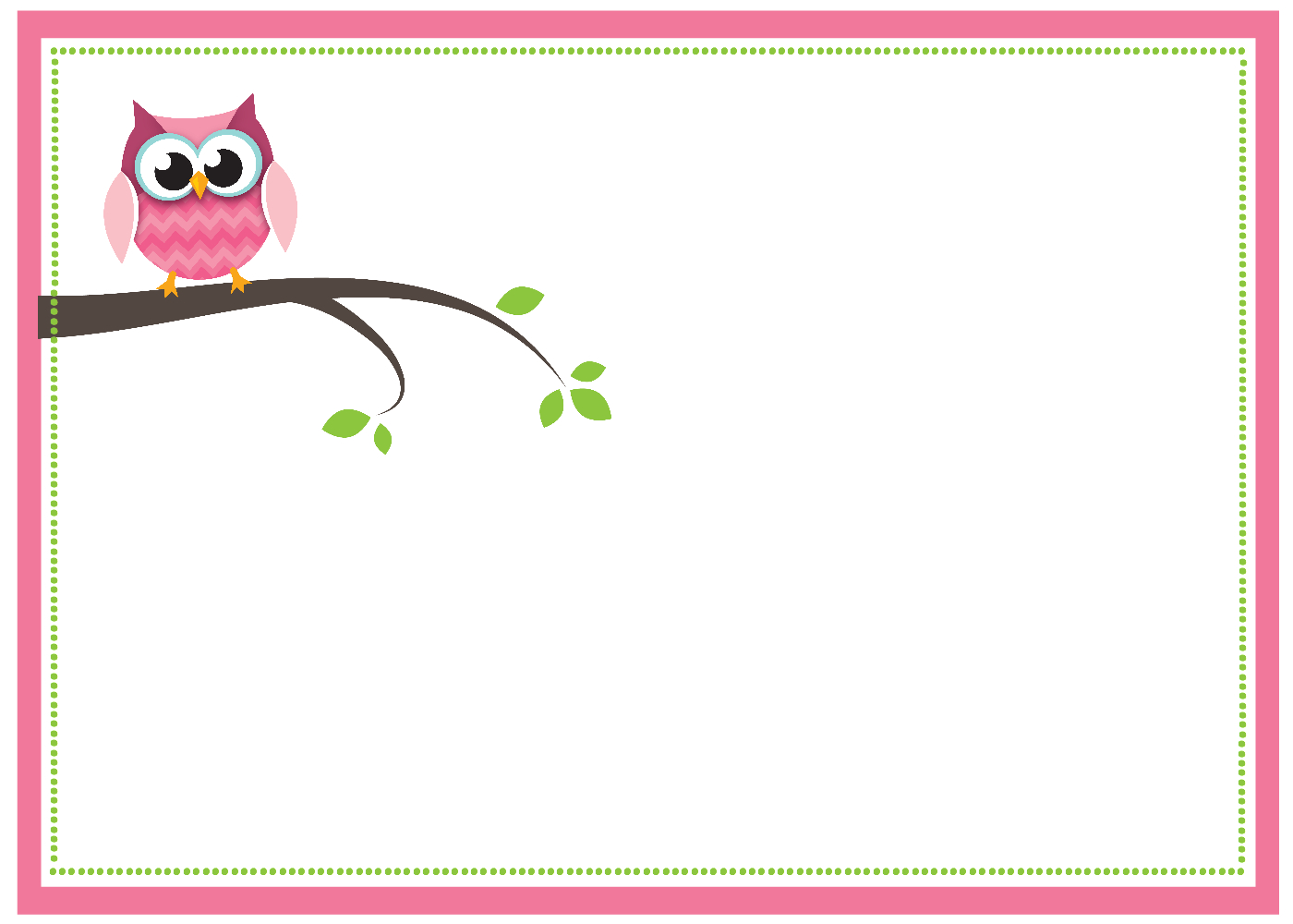 Free Printable Owl Baby Shower Invitations {& Other Printables} - Free Owl Printables