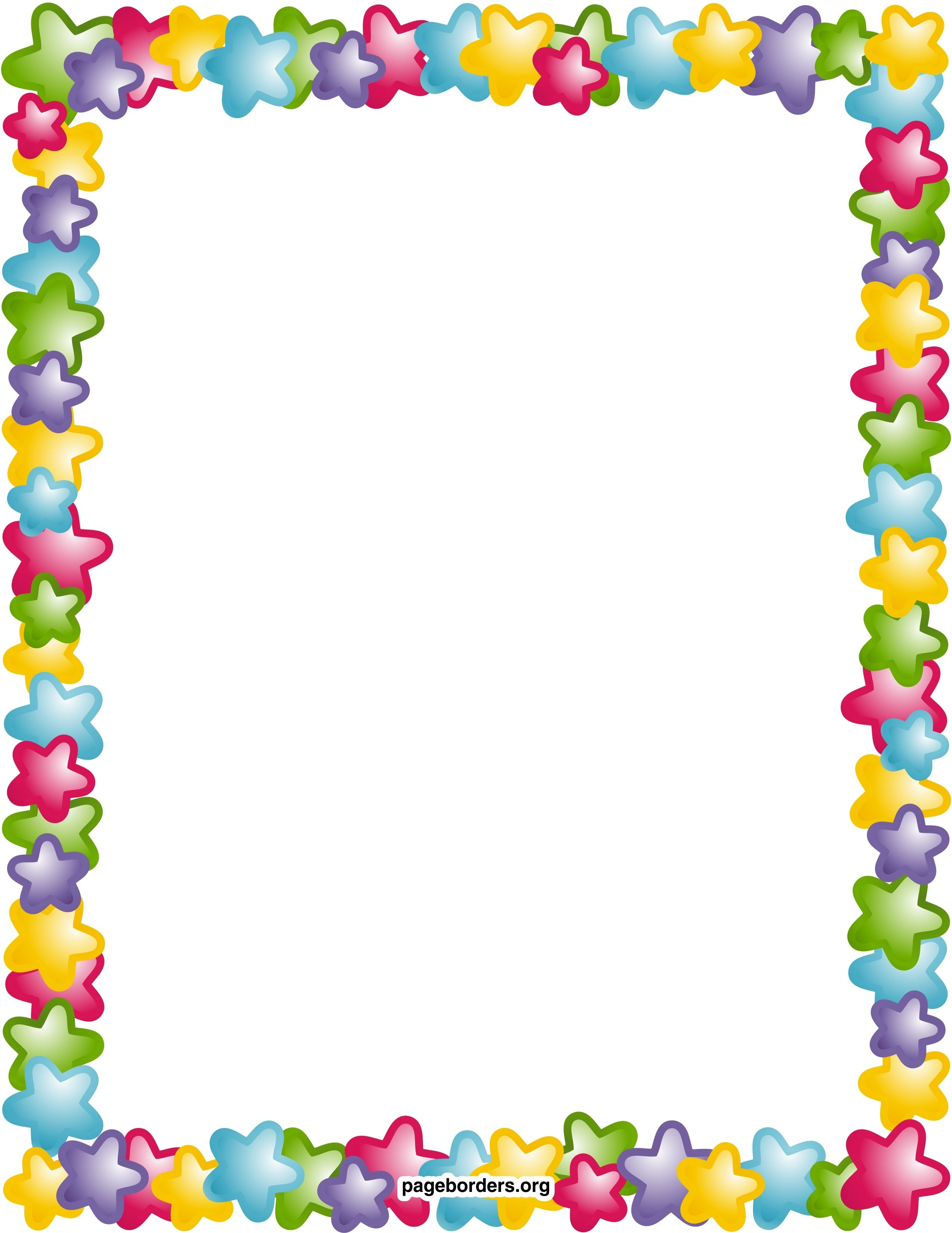 Free Printable Page Borders And Frames Image Gallery - Photonesta - Free Printable School Stationery Borders
