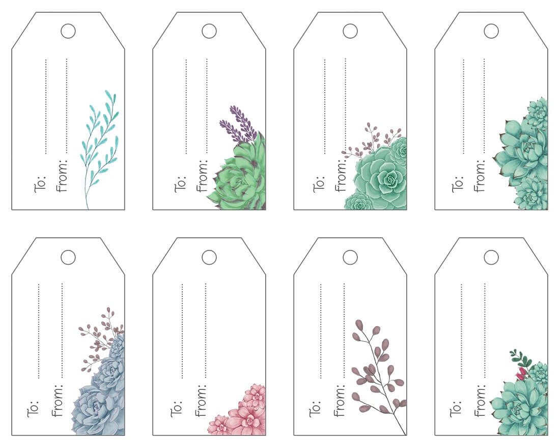 Free Printable .pdf Gift Tags   Maggie Stilwell Design - Free Printable Gift Tags