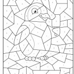 Free Printable Penguin At The Zoo Colournumbers Activity For   Free Printable Activities