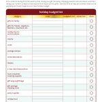 Free Printable Personal Budget Worksheet | Free Printable Holiday   Free Printable Personal Budget Template