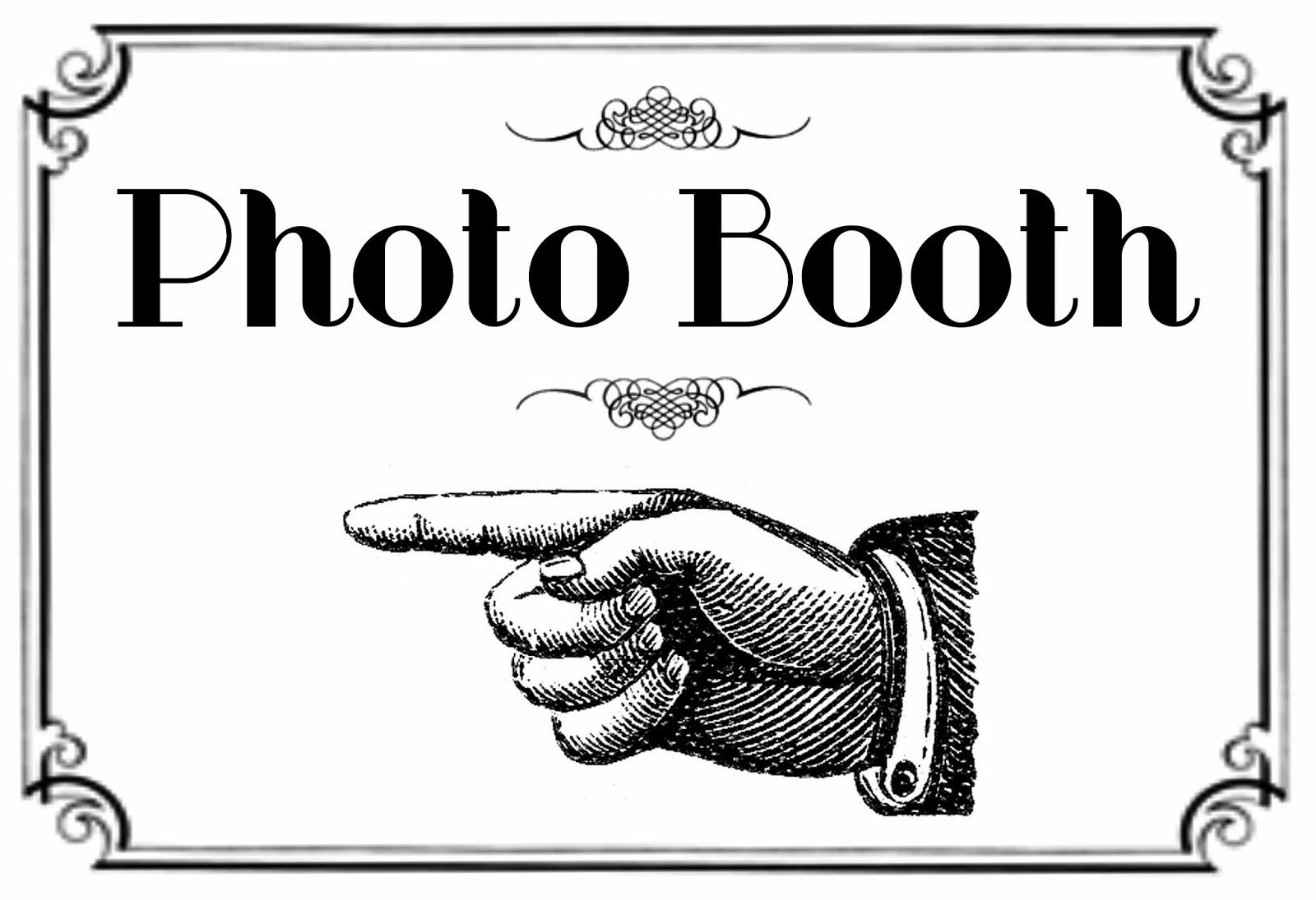 Free Printable Photo Booth Sign   Here Is The Printable For The - Free Printable Photo Booth Sign Template