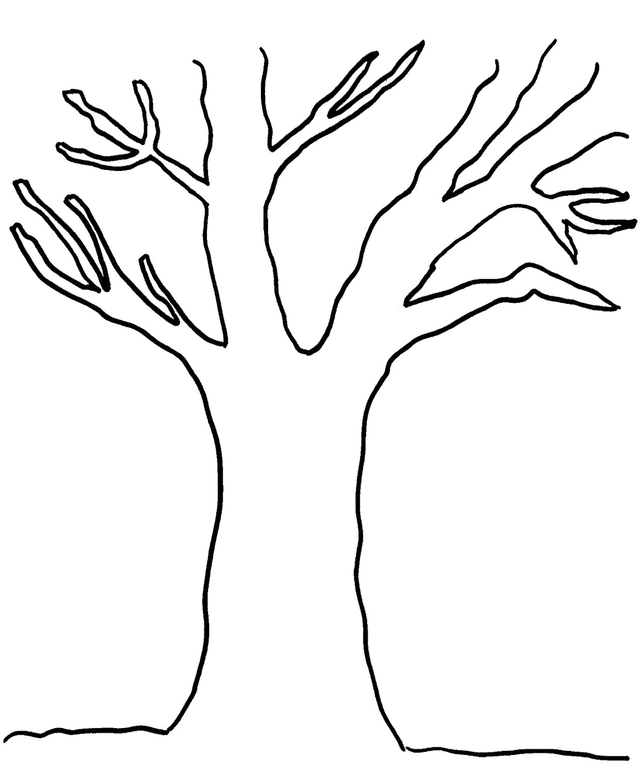 Free Printable Pictures Of Trees, Download Free Clip Art, Free Clip - Free Printable Palm Tree Template