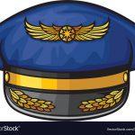Free Printable Pilot Hat Template   Free Printable Pilot Hat Template