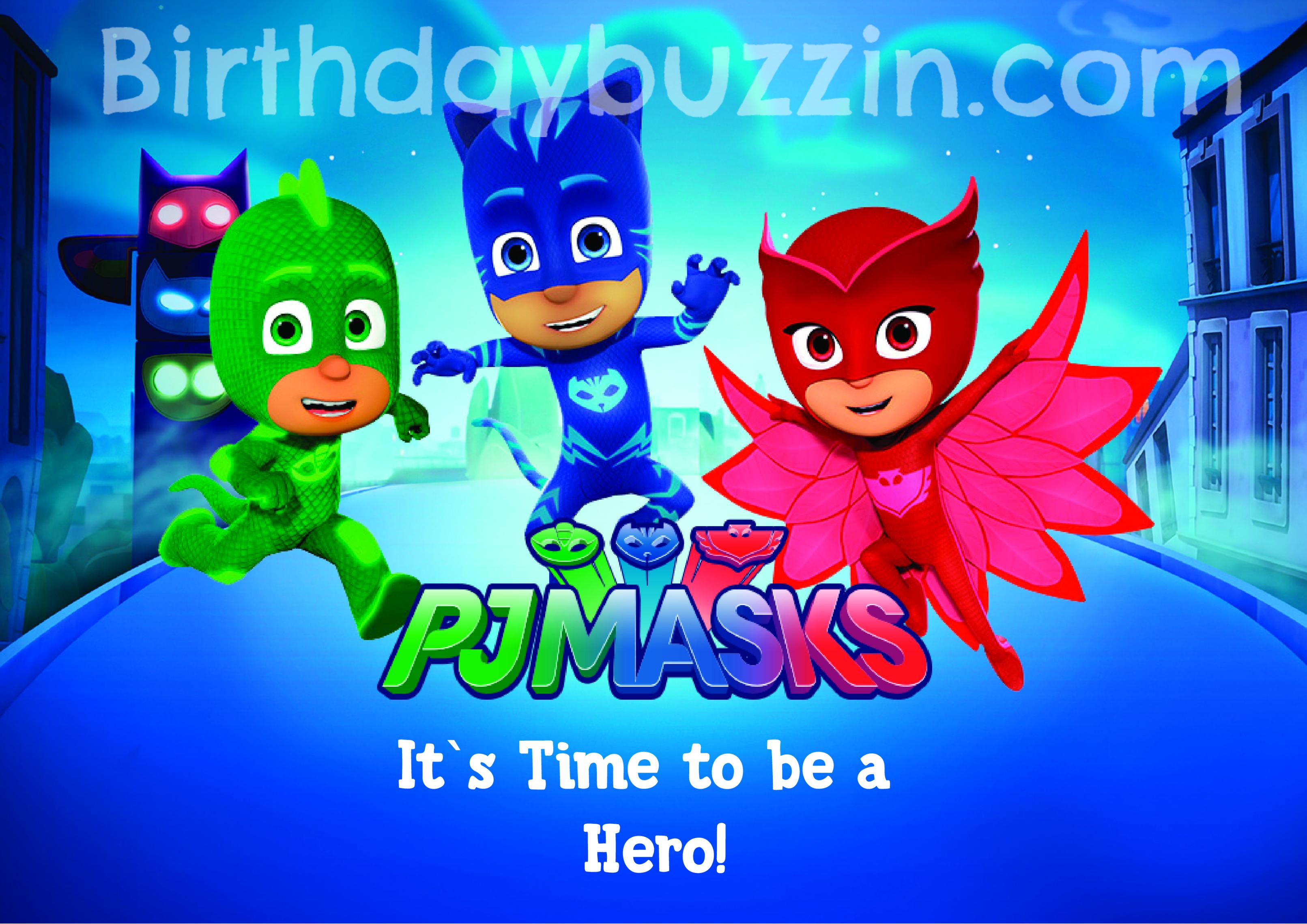 Free Printable Pj Masks Placemats | Birthday Buzzin - Pj Mask Free Printables