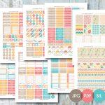 Free Printable Planner Stickers – Planner Addiction   Printable Erin Condren Stickers Free