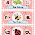 Free Printable Play Money Kids Will Love | Fake Monopoly Bills   Free Printable Canadian Play Money For Kids