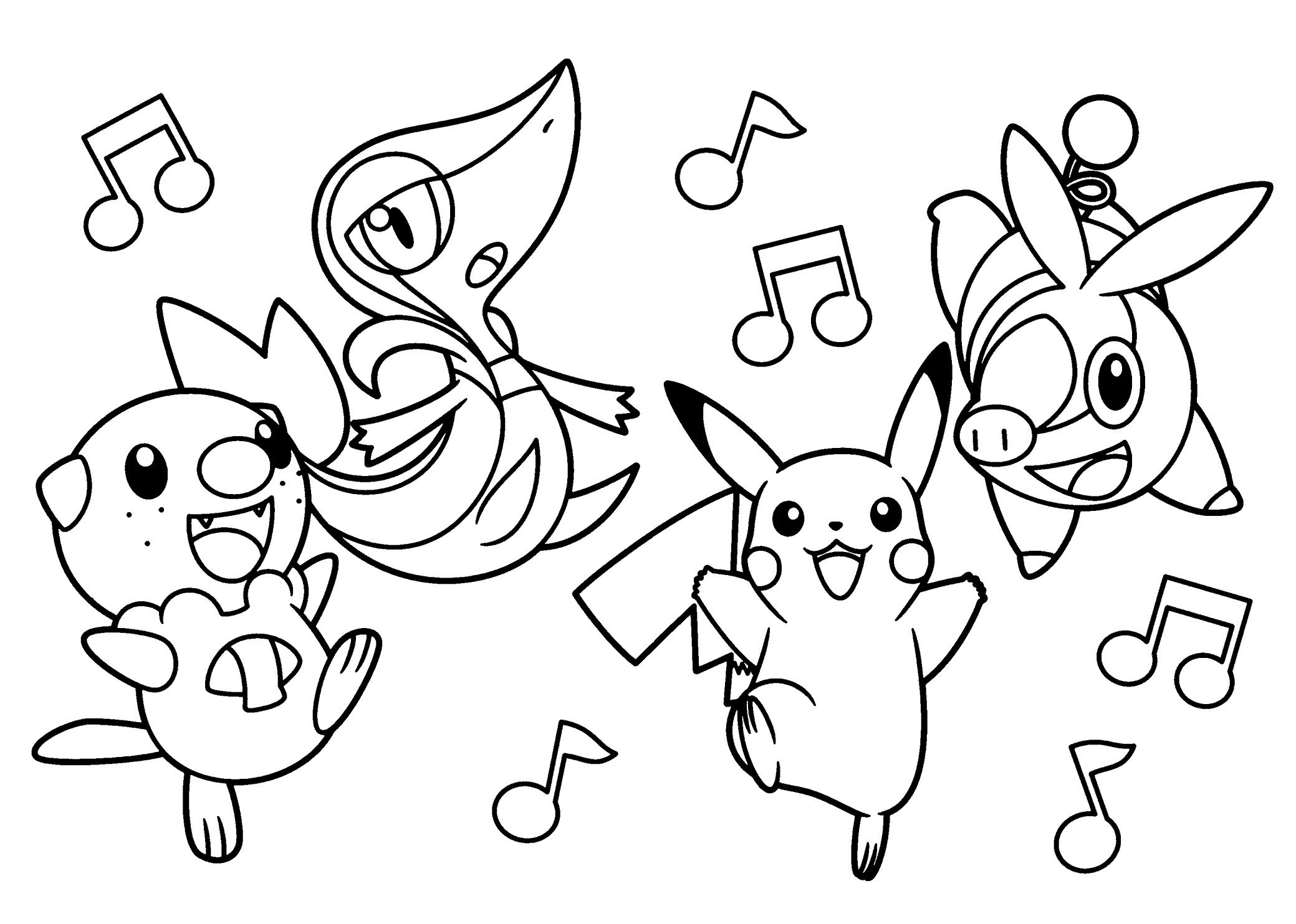 Free Printable Pokemon Coloring Pages Best Image To Print 19 Pokemon - Free Printable Pokemon Coloring Pages