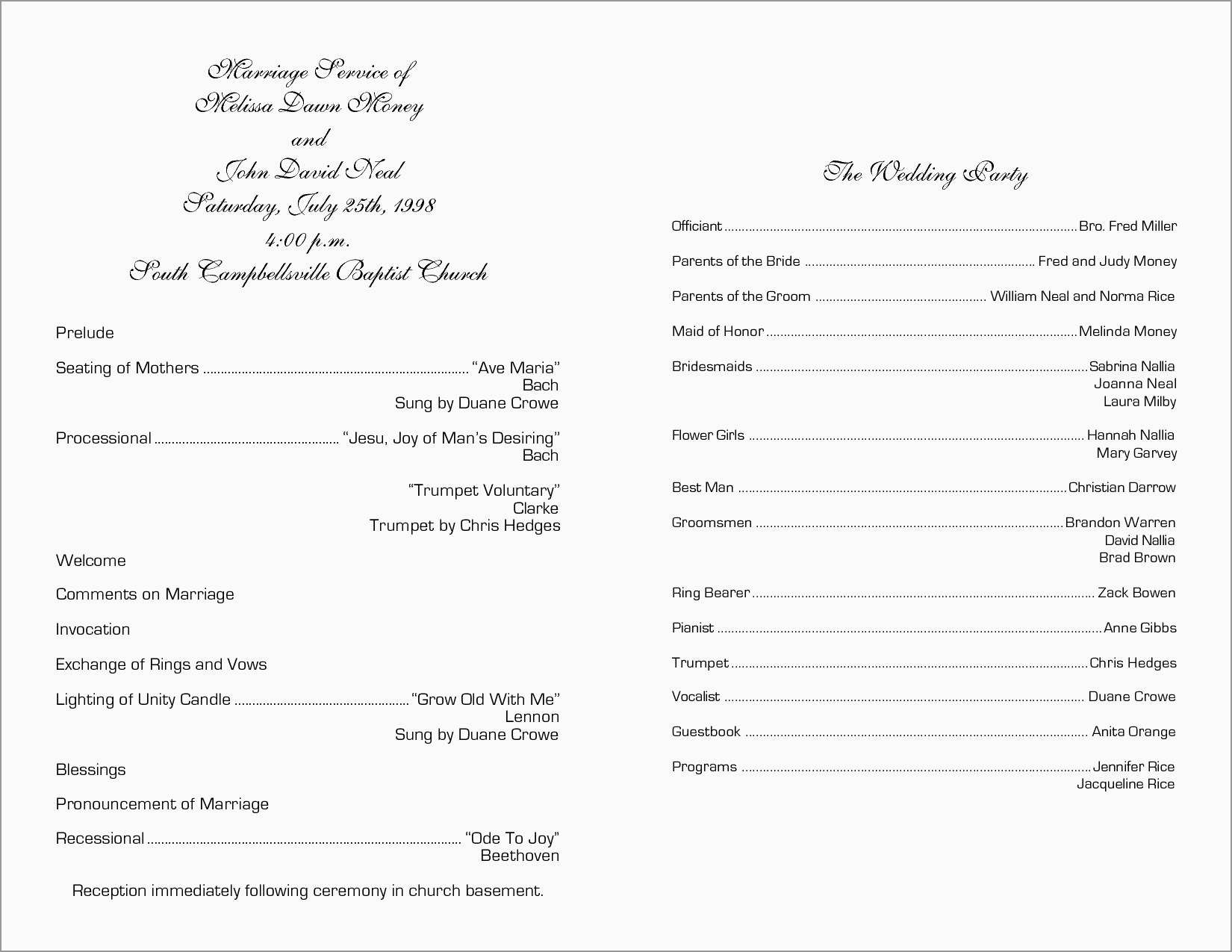 Free Printable Program Templates For Church Good Free Church - Free Printable Church Program Templates