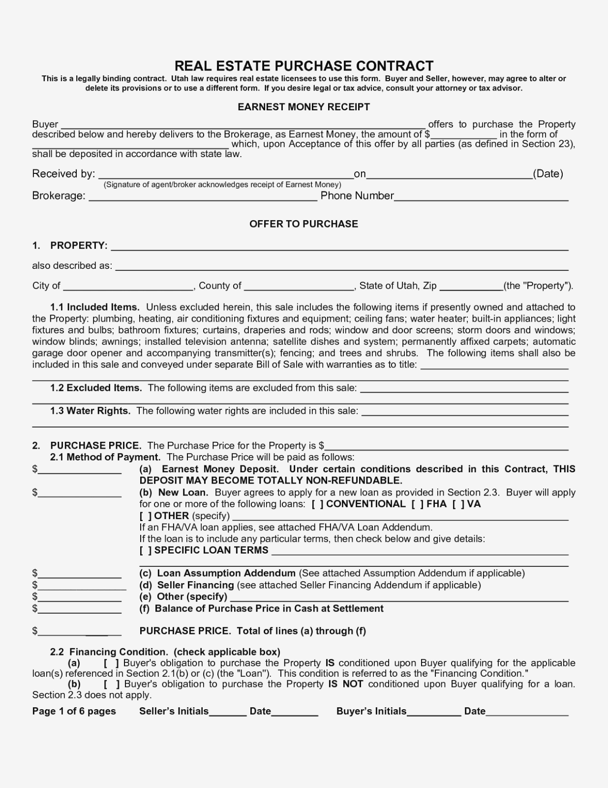 Free Printable Real Estate Contracts – Kairo.11Terrains – Form - Free Printable Real Estate Contracts