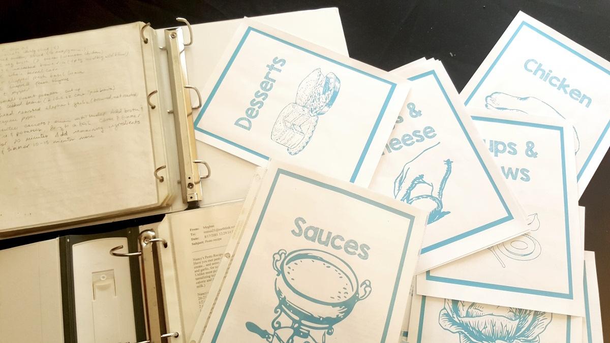 Free Printable Recipe Binder Kit > Joy Makin' Mamas - Free Printable Recipe Binder Kit