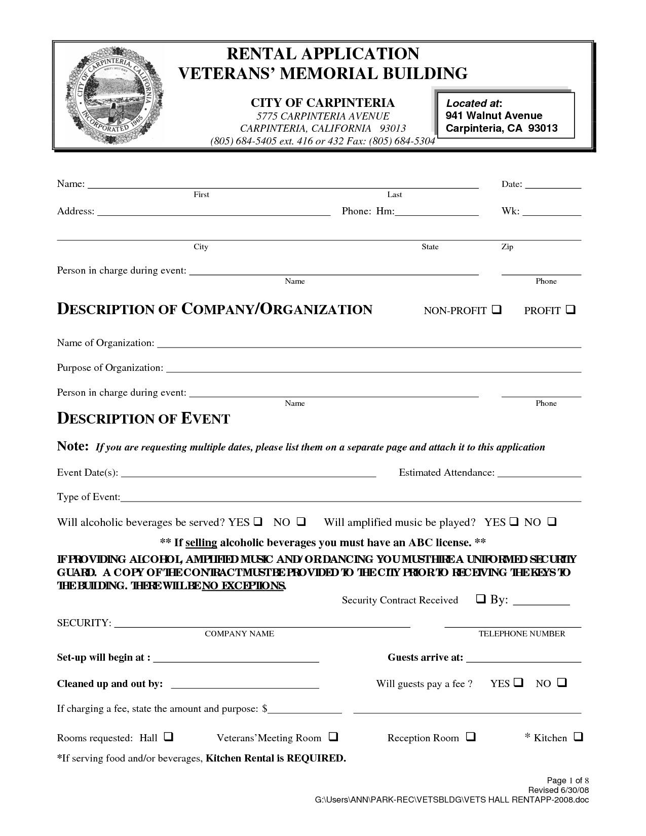 Free Printable Rental Agreement California | Shop Fresh - Free Printable California Residential Lease Agreement