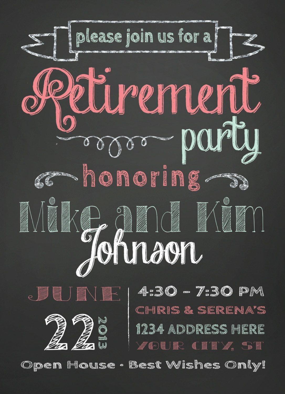 Free Printable Retirement Party Invitations | Home Decor - Free Printable Retirement Party Invitations