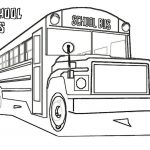 Free Printable School Bus Coloring Pages For Kids   Free Printable School Bus Coloring Pages