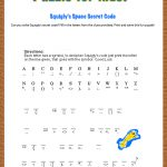 Free Printable Secret Code Word Puzzle For Kids. This Puzzle Has A   Free Printable Cryptograms Pdf