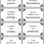 Free Printable Self Esteem Worksheets | Free Printable Positive Self   Free Printable Positive Affirmation Cards