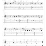 Free Printable Sheet Music: Joy To The World, Free Christmas Guitar   Free Printable Guitar Music
