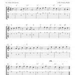 Free Printable Sheet Music: O Come, All Ye Faithful, Easy Free   Free Printable Guitar Music