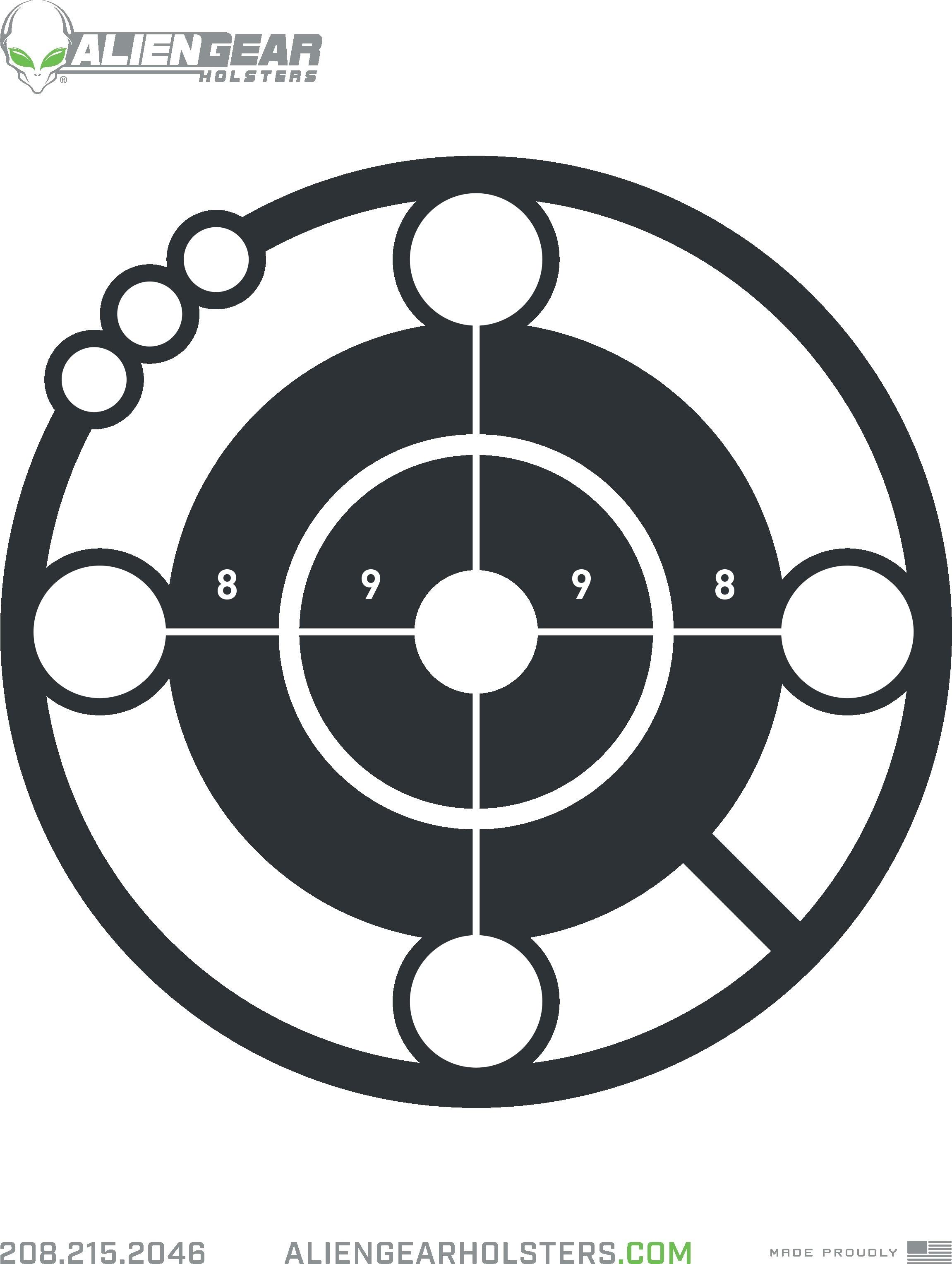 Free Printable Shooting Targets - Free Printable Targets For Shooting Practice