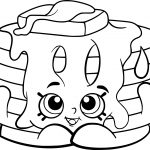 Free Printable Shopkins Coloring Pages   Coloring Pages For Kids   Free Shopkins Coloring Printables