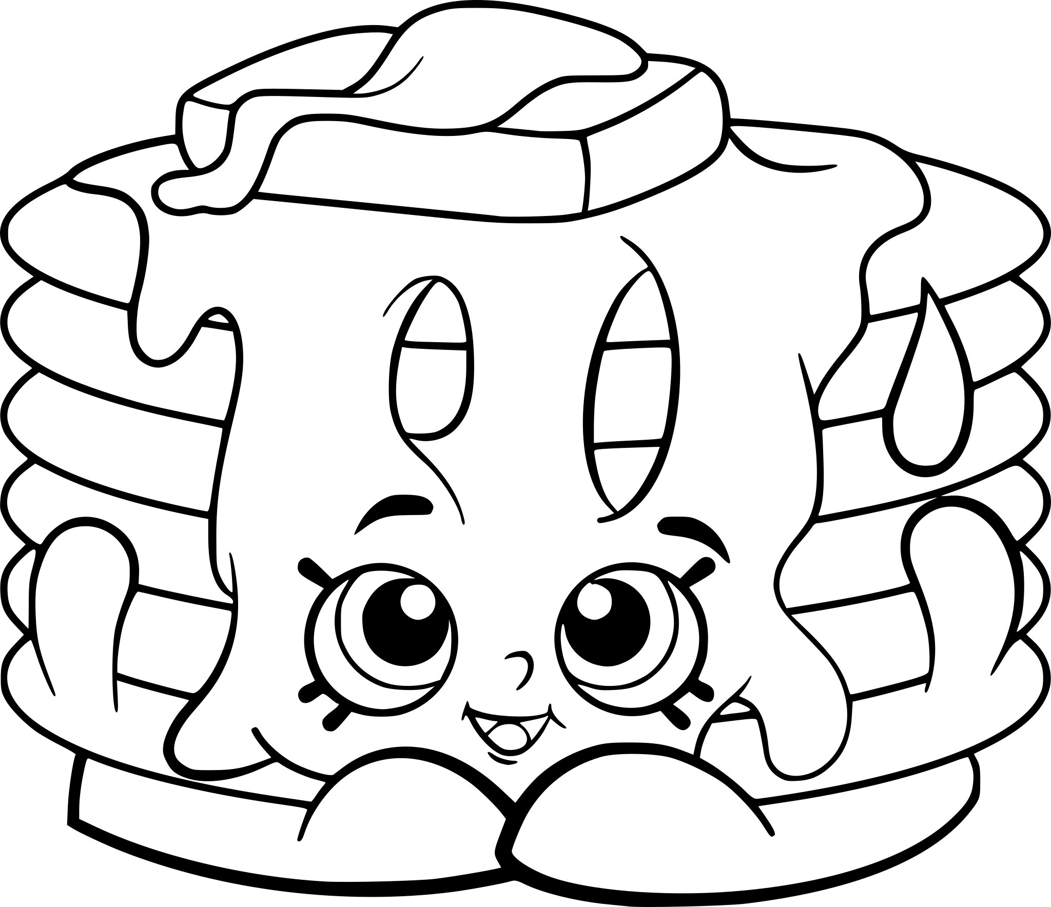 Free Printable Shopkins Coloring Pages - Coloring Pages For Kids - Free Shopkins Coloring Printables