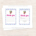 Free Printable Shopkins Thank You Card Halegrafx   Oukas   Shopkins Thank You Cards Free Printable