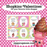 Free Printable Shopkins Valentine's Day Cards   Sippy Cup Mom   Free Printable Valentines Day Cards For My Daughter