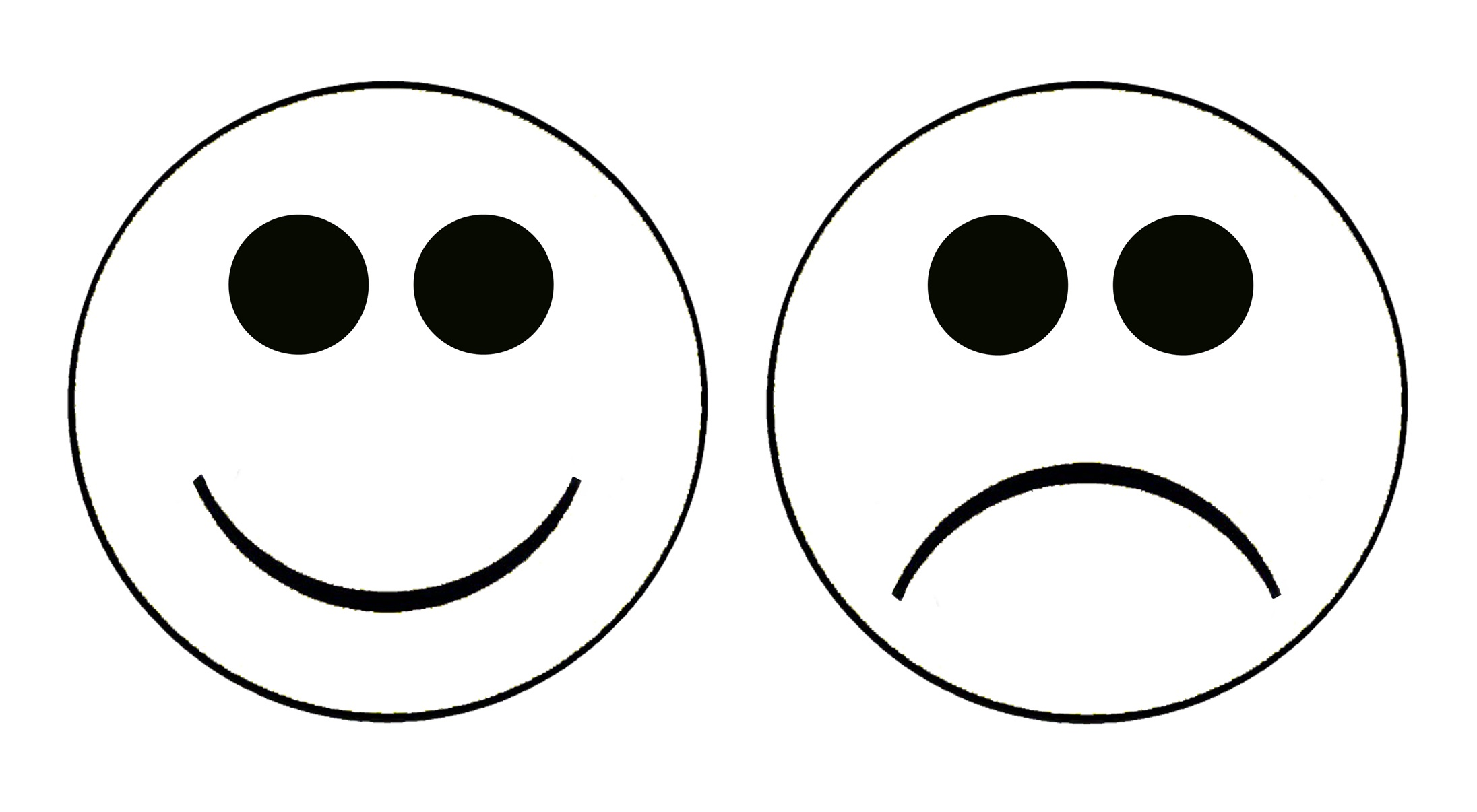 Free Printable Smiley Faces Clipart   Free Download Best Free - Free Printable Sad Faces